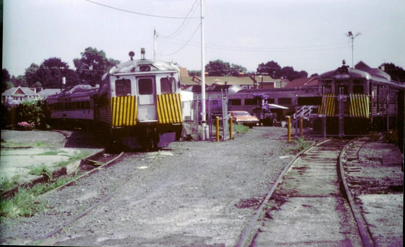 SEPTA's Newtown Regional Rail Station, 1984